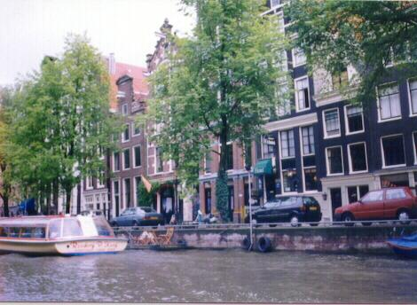 River Cruise in Amsterdam, the Nederlands